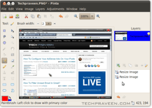 Pinta - A Simple Alternative To The GIMP