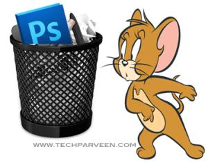 Uninstall Adobe Photoshop CS5 in Mac OS X
