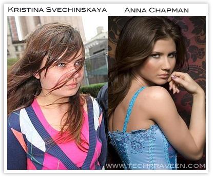 Kristina Svechinskaya vs Anna Chapman