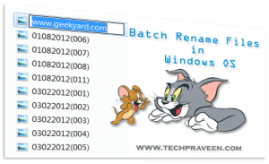 How to Batch Rename Files in One Shot in Windows