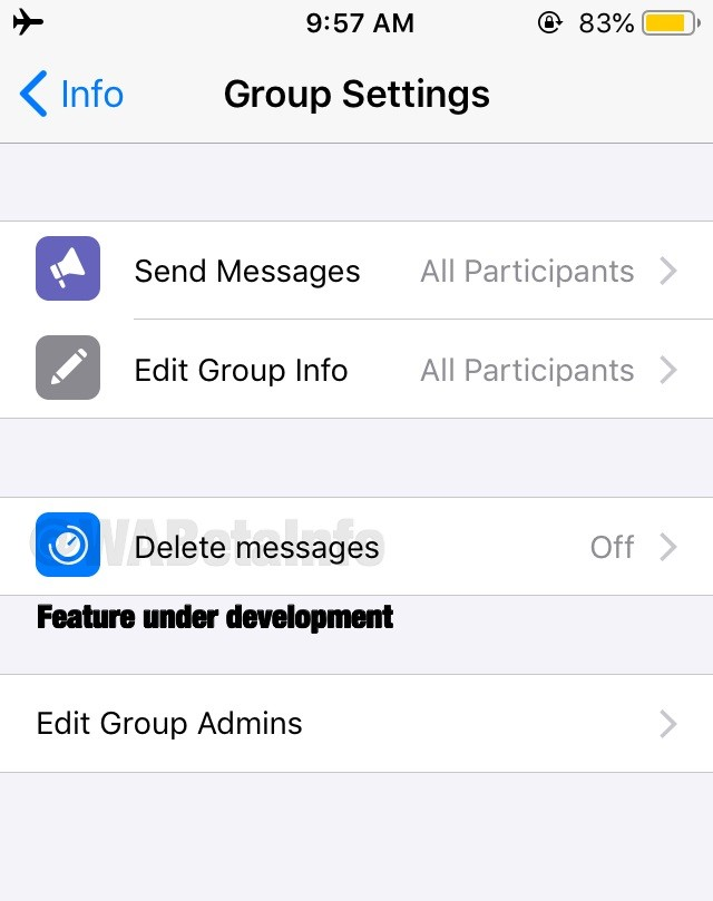 WhatsApp Automatically Deletes Messages