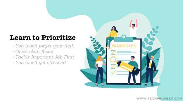 Advantages of Priority Setting and To-Do List