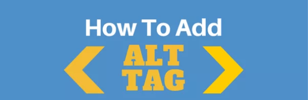 Images must be optimized (Alt Tag)