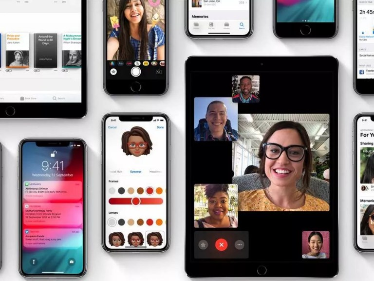 Apple iOS 12. Image: Apple Website