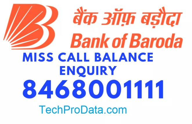 BANK OF BARODA BALANCE CHECK
