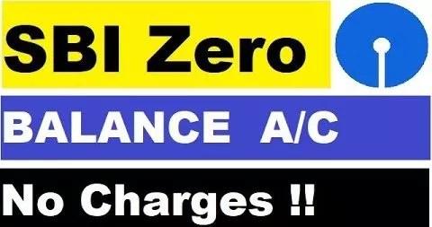 SBI online bank account opening with zero balance