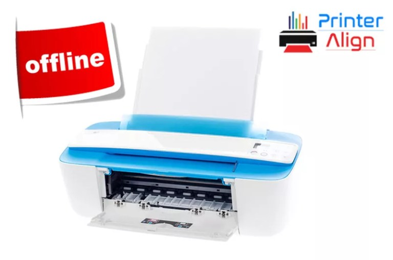 Why is my HP Printer Showing Offline?