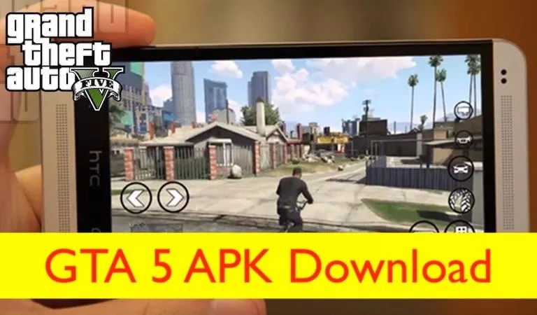 Download GTA 5 Apk on Android Gadget