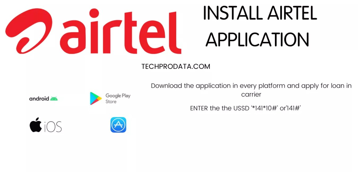 Steps to Take Loan In Airtel Application