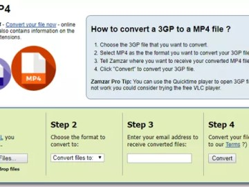 Best 3 ways to convert 3GP to MP4