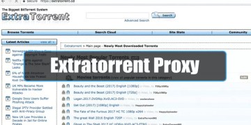 Extra Torrents Proxy/ Mirror Sites List for 2020