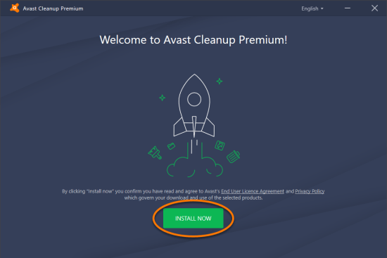 Avast Cleanup installed for WindowsPC