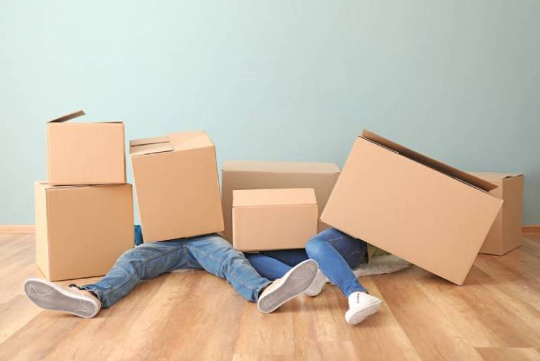 Tired of Cardboard Moving Boxes