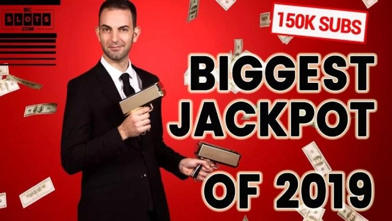 Biggest slot jackpot wins in 2019