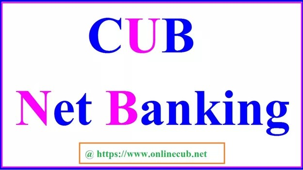CUB NET BANKING REGISTRATION