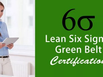 Are There any Free Lean Six Sigma Green Belt Courses