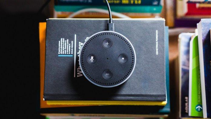 Alexa means voice enabled speaker