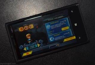 Gravity Guy on Windows Phone
