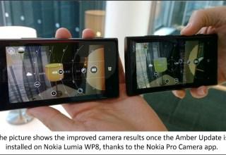 Amber Nokia ProCam
