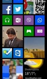 500px Windows Phone Screen shot