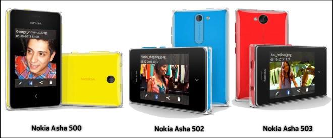 Nokia Asha Range Picture Release