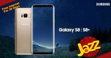 Galaxy S8 Jazz Free Internet