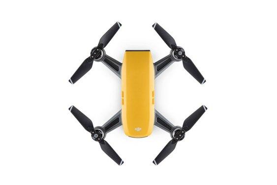DJI Spark Drone Yellow