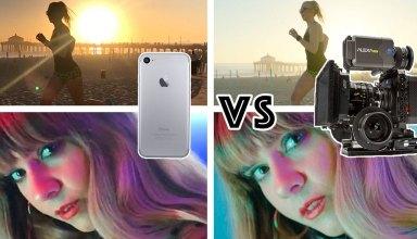 iPhone 7 vs Arri Alexa Movie Camera