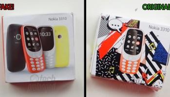 Nokia 3310 Fake vs Original