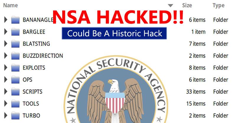 NSA Hacked Tools