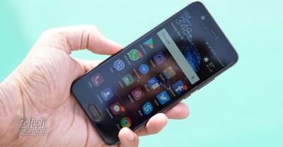 Huawei P10 Display Under Bright Sunlight