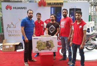 Huawei Mega Prizes