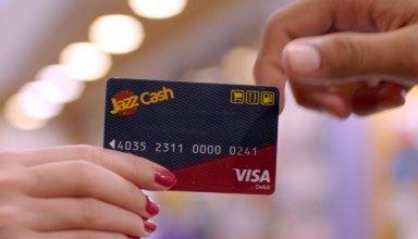 JazzCash Visa Debit Card