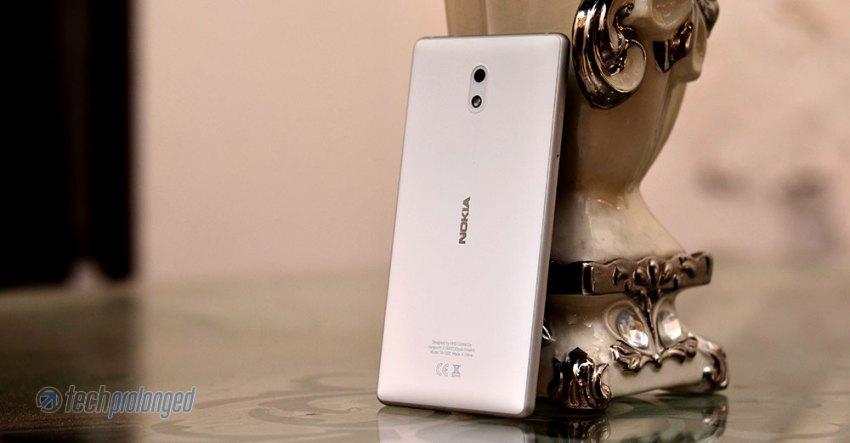 Nokia 3 White/Silver Back