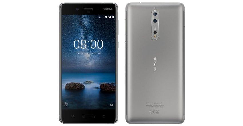 Nokia 8 Steel/Silver