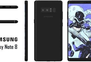 Samsung Galaxy Note 8 Render Leak