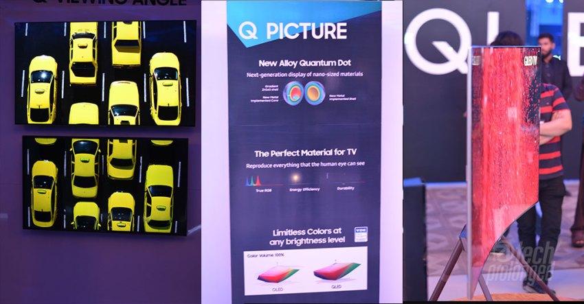 Samsung QLED TV 2017 Launch Pakistan