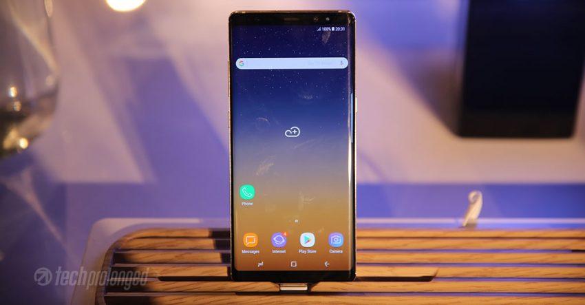 Galaxy Note 8 Slim Bezels