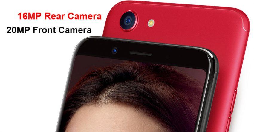 OPPO F5 Camera