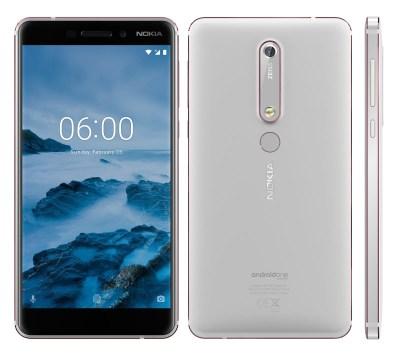 New Nokia 6 2018 White/Iron