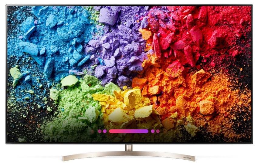 LG Premium TV 2018