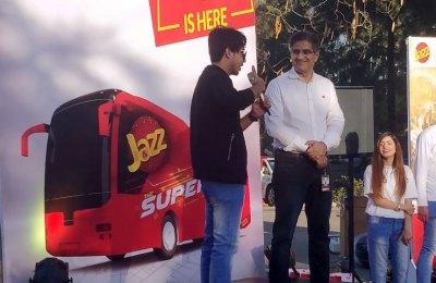 Jazz Super 4G Bus Tour