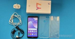 Huawei Y7 Prime 2018 Unboxed