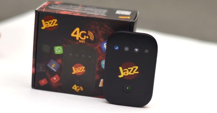 Jazz Super 4G WiFi Box