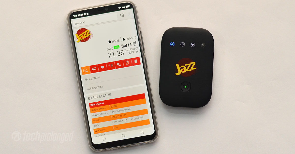 Jazz Super 4G WiFi Review - Mobile Broadband On-the-Go