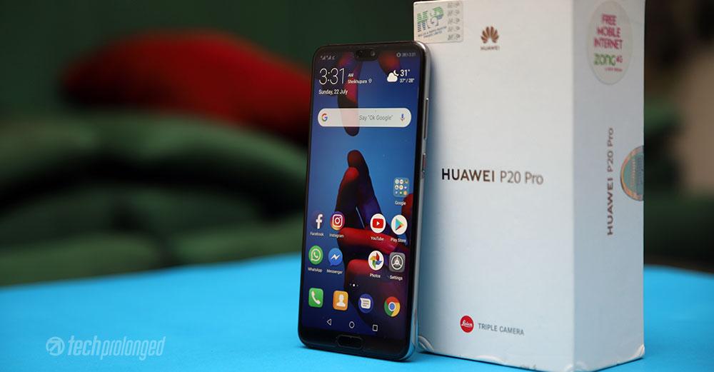 Huawei-P20-Pro-Review-TechProlonged-Beside-box-side %