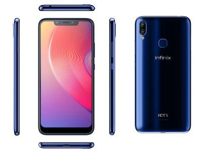 Infinix S3X Profile Color Aqua Blue
