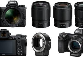 Nikon Z7 and Z6