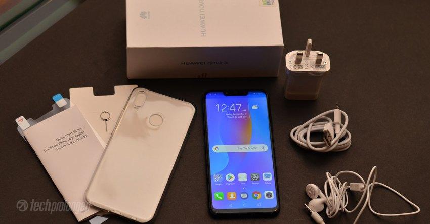 Huawei Nova 3i Box Content