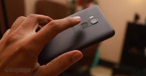 Infinix Note 5 Stylus Fingerprint Rear-mounted